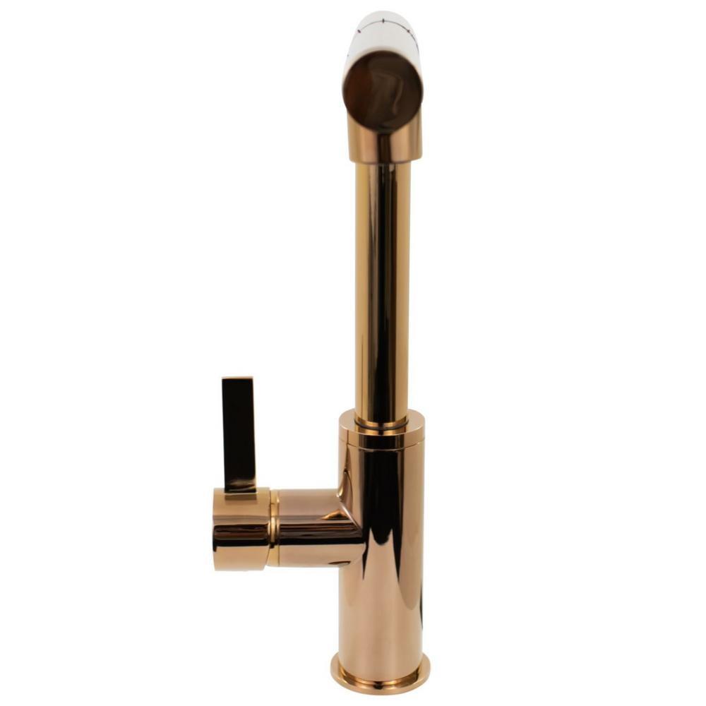 Misturador G Monocomando Extensível Rose Gold GOURMET09