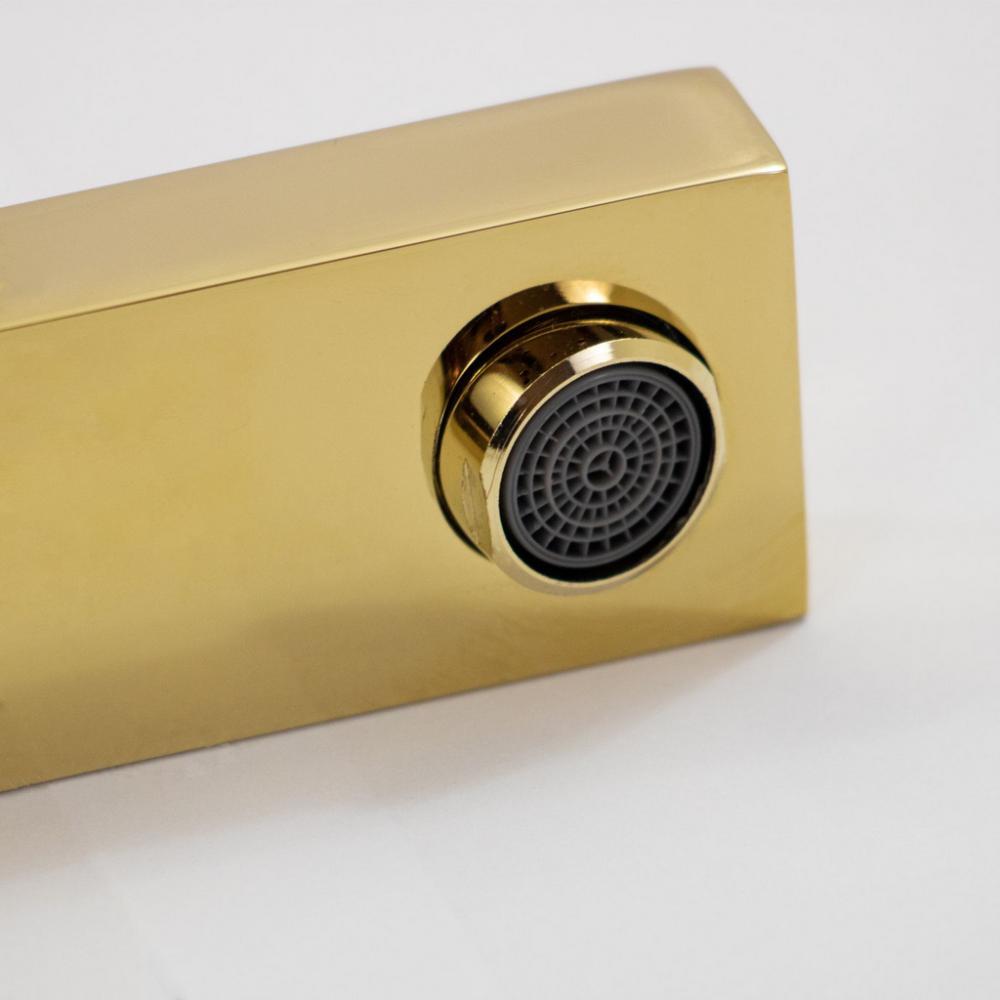 Misturador Monocomando Bica Alta Gold Dourado MIST03