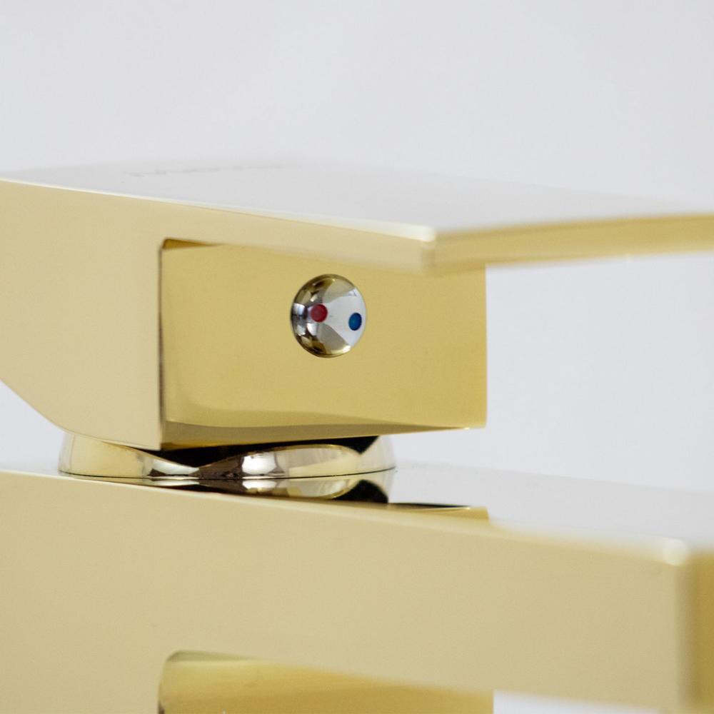 Misturador Monocomando Bica Baixa Gold Dourado MIST03