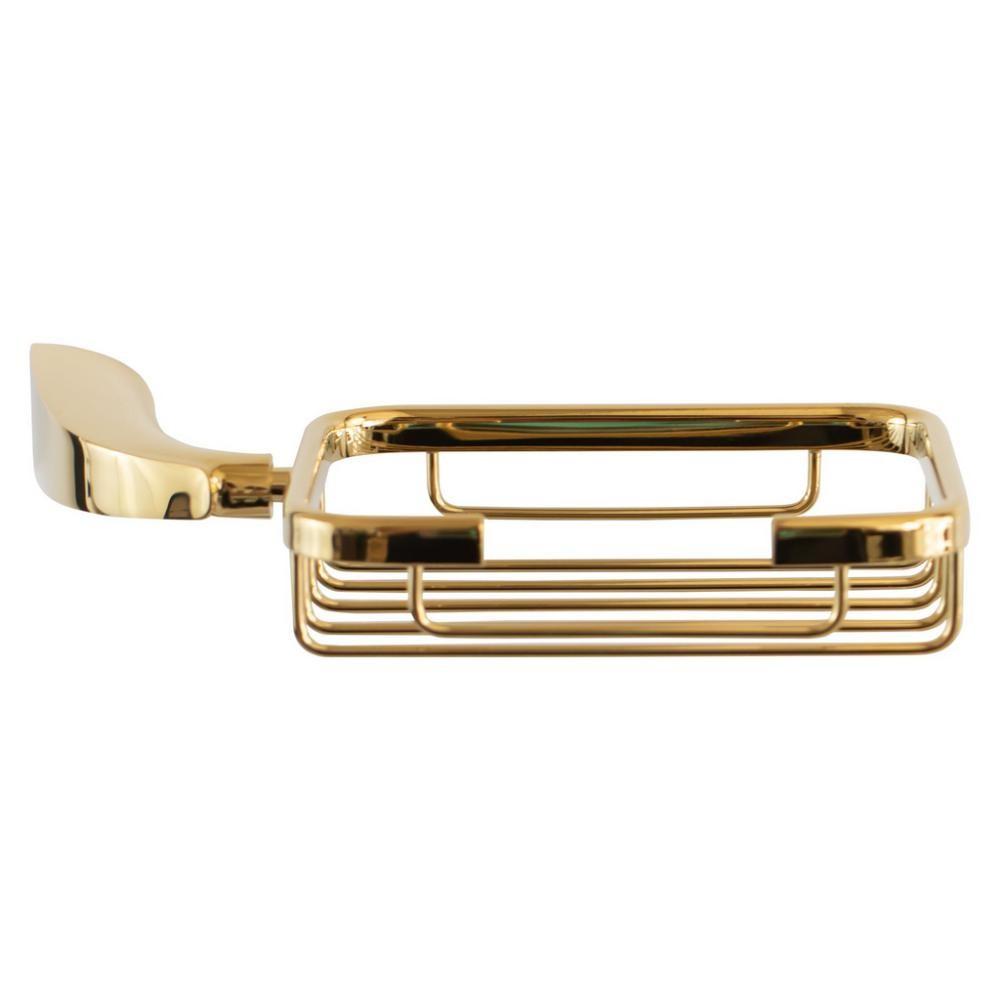 Saboneteira Porta Sabonete de Parede Dourado Gold Nias