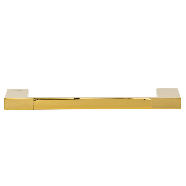 Toalheiro Porta Toalha de Rosto de Parede Dourado Gold Lux 30cm