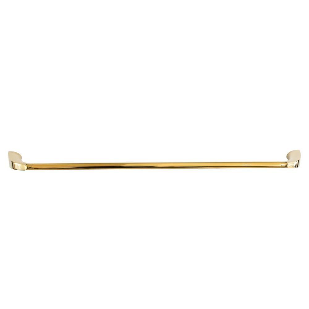Toalheiro Porta Toalhas de Banho de Parede Gold Dourado Nias 60cm
