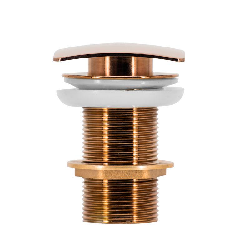 Válvula Click Quadrada Lux Rose Gold