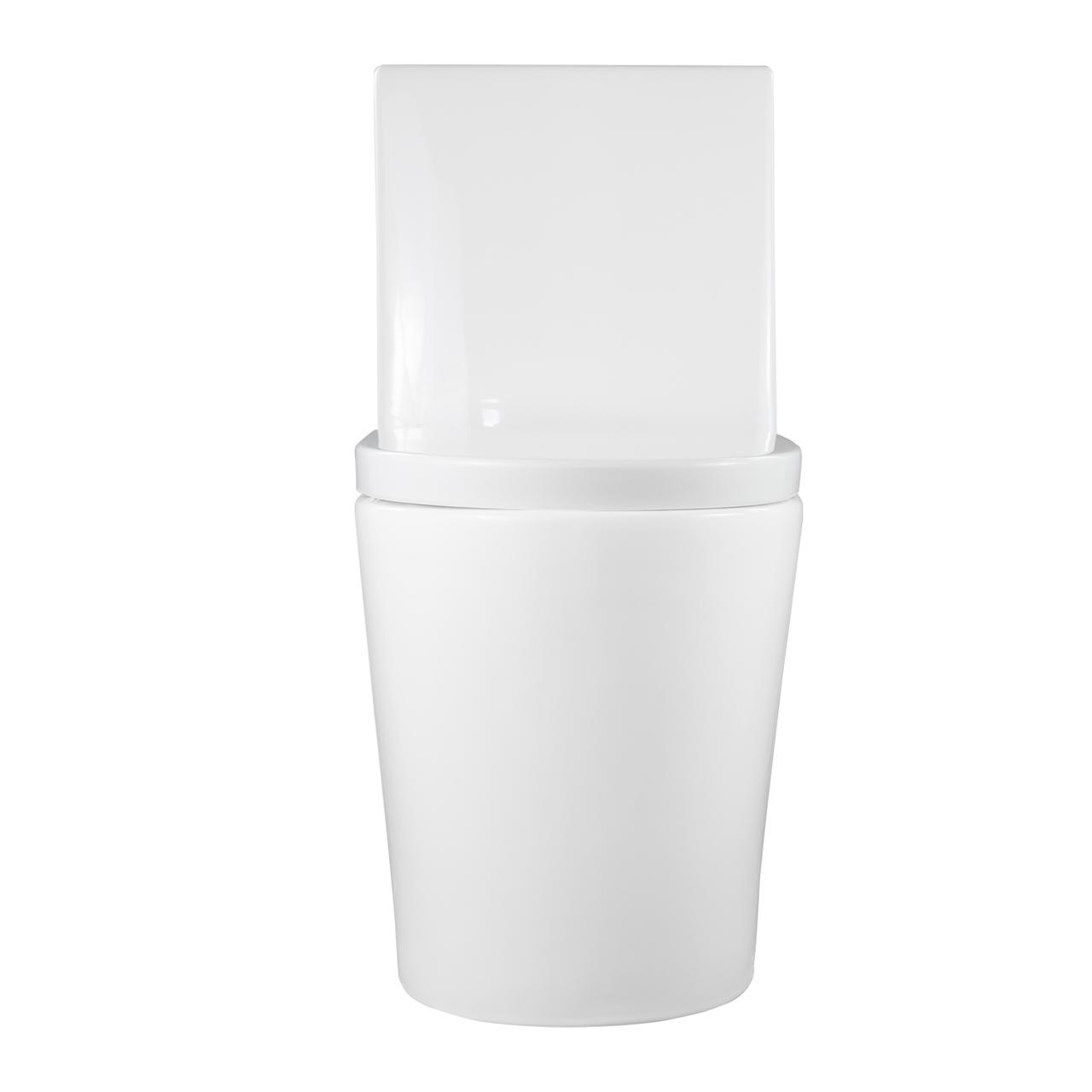 Vaso Sanitário Caixa Acoplada Redondo Branco Fluir