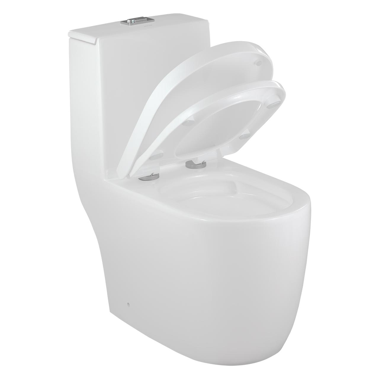 Vaso Sanitário Caixa Acoplada Redondo Branco Nias