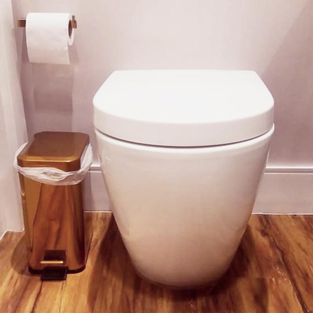 Vaso Sanitário Convencional Redondo Branco Nias
