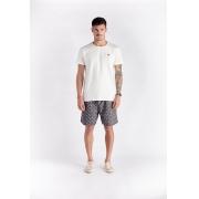 T-shirt Surf Supply Branca Melty