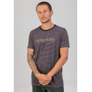 T-Shirt Be Simple Listrado melty