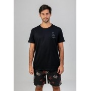 T-shirt On the road preto melty