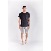 T-shirt Pelican Beach Preto Melty