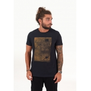 T-shirt Remada Preto melty