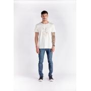 T-shirt Tentakel Branco Melty