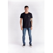 T-shirt Wave Hunter Preto Melty