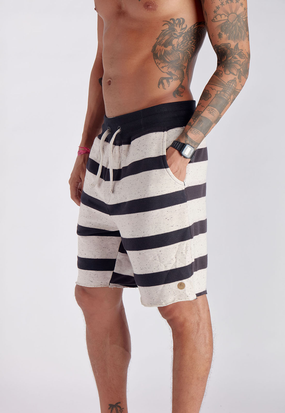 Bermuda  Mesh Stripes Melty