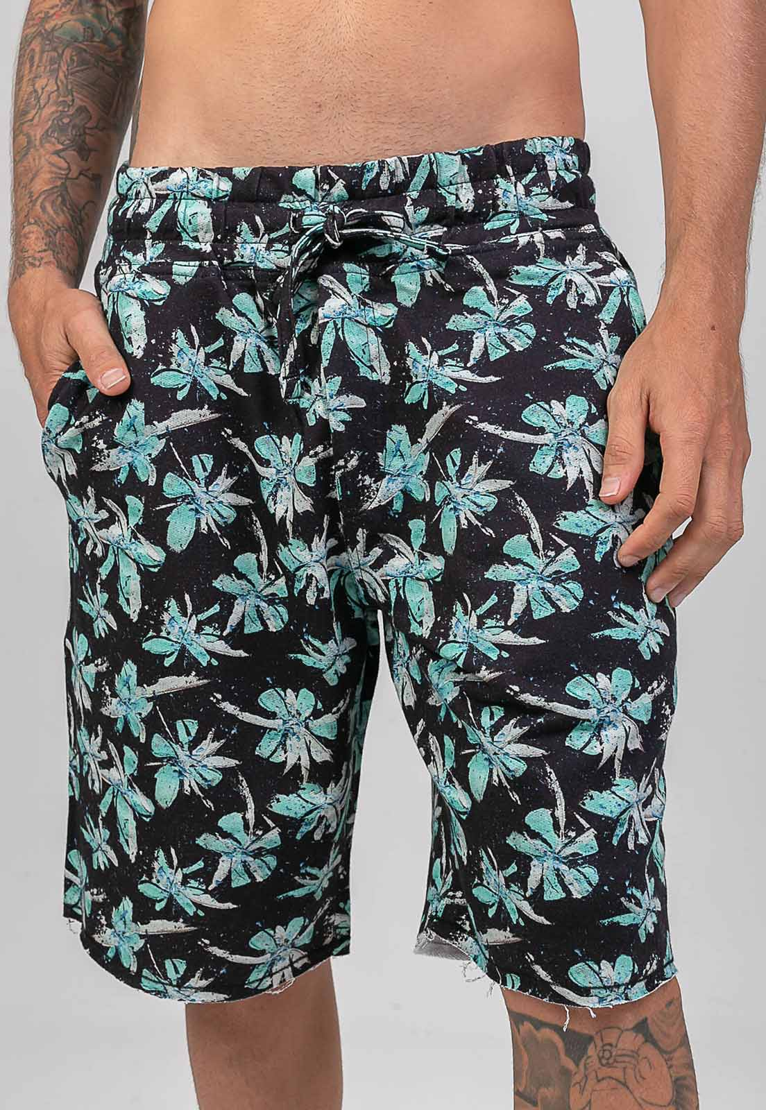 Bermuda Floral Spring One Melty  - melty surf & Co.