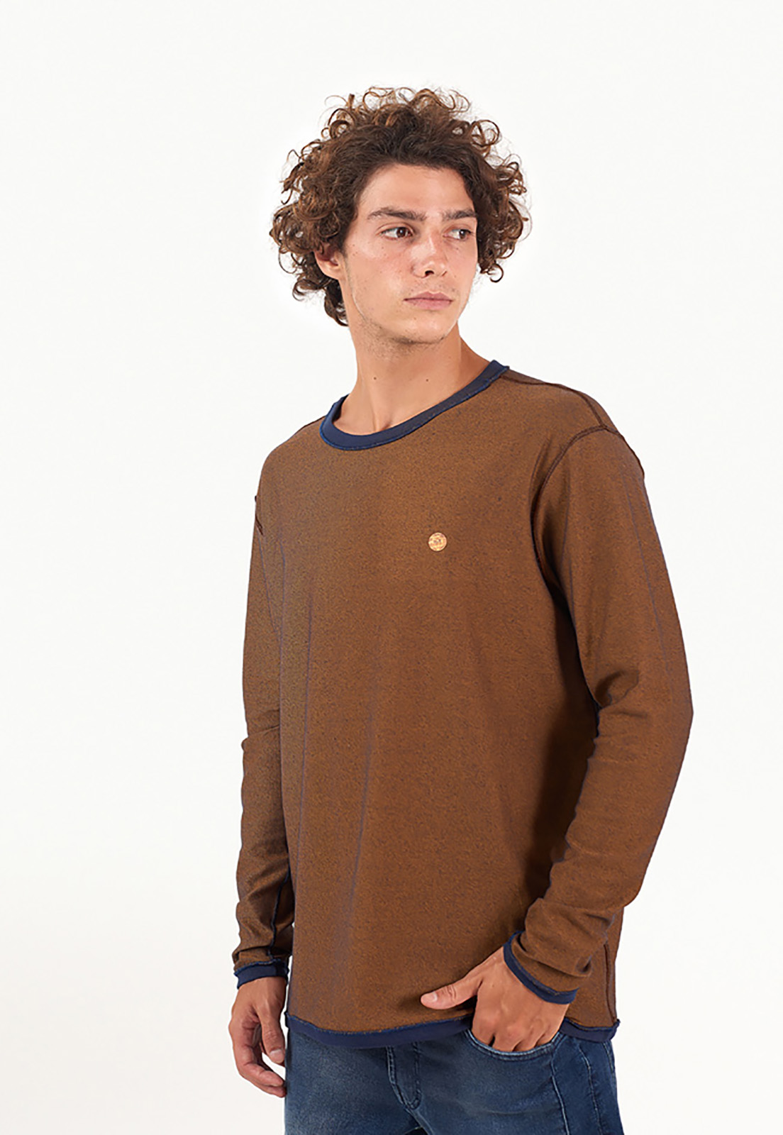Blusa Double Camel melty  - melty surf & Co.