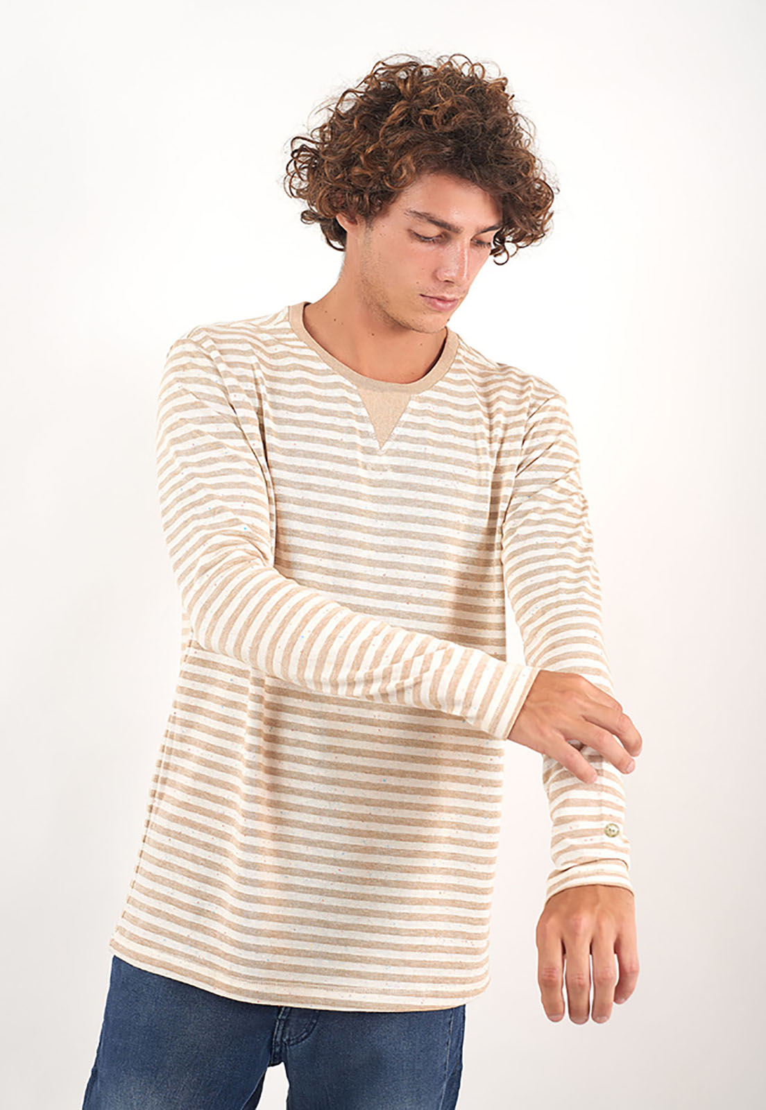 Blusa Golden Stripes melty