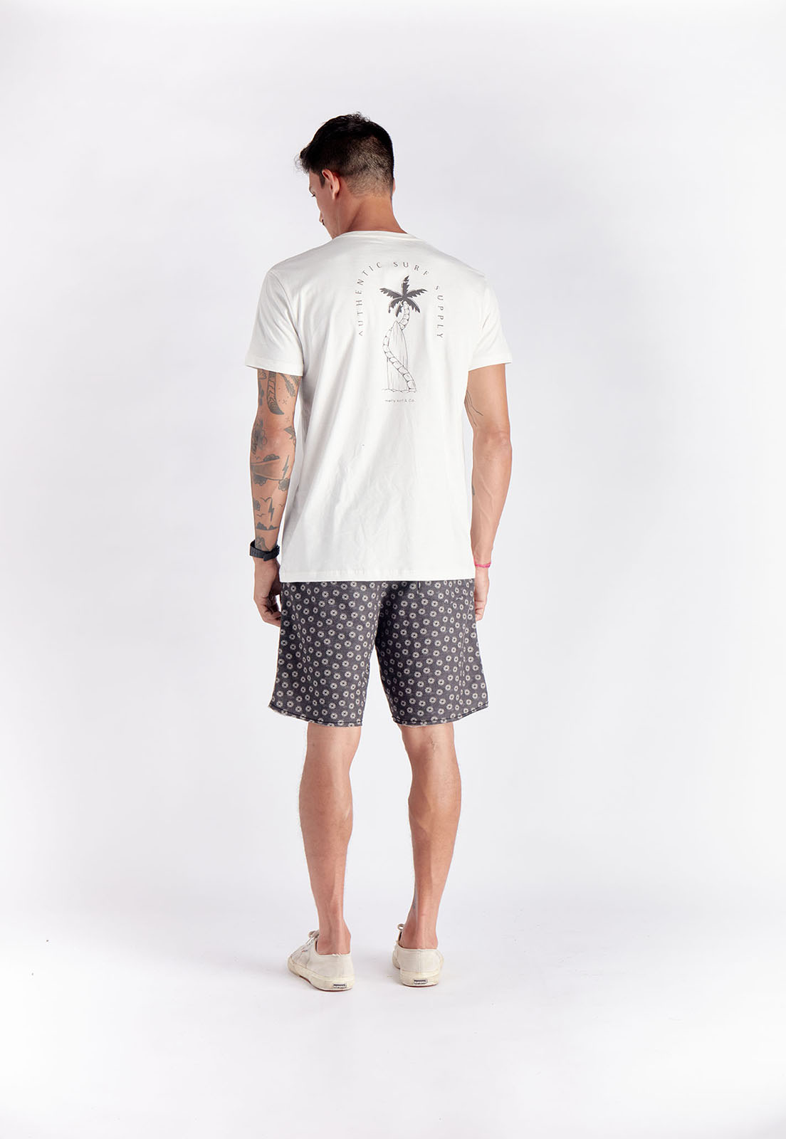 T-shirt Surf Supply Branca Melty  - melty surf & Co.