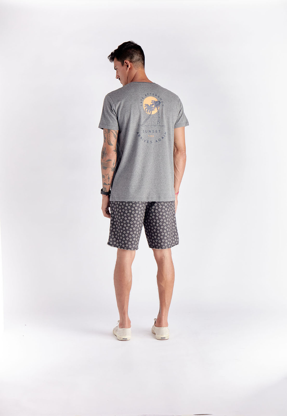 T-shirt Afternoon Mescla Melty  - melty surf & Co.