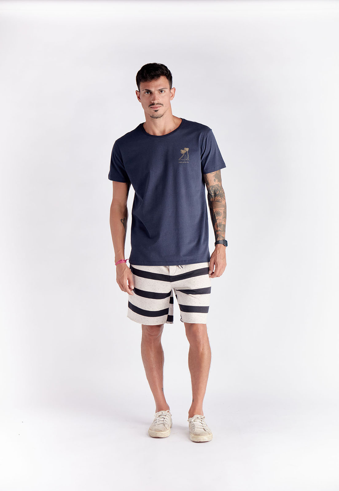 T-shirt Afternoon Marinho Melty  - melty surf & Co.
