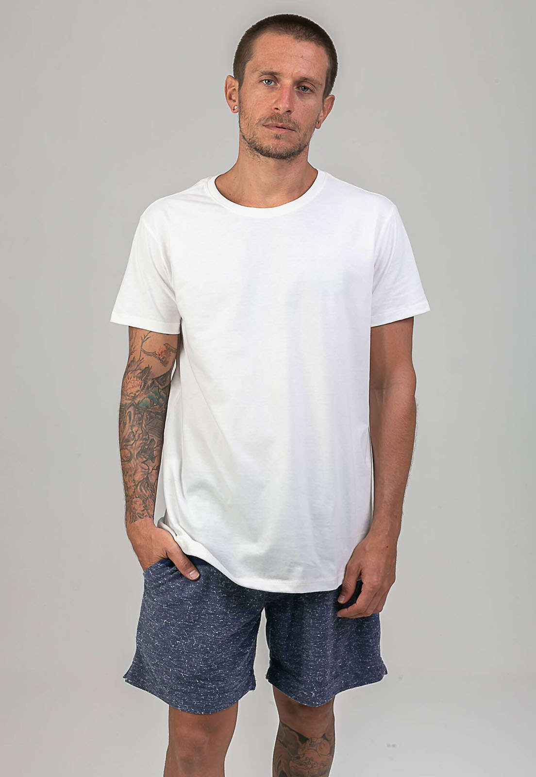 T-shirt Basic Branco melty