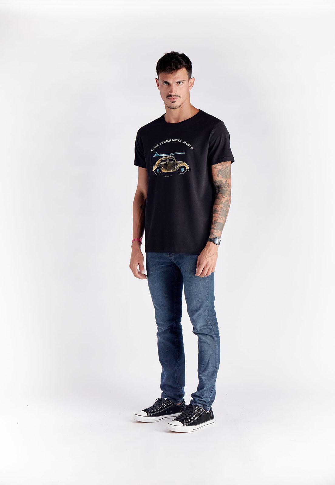T-shirt Beetle Preto Melty