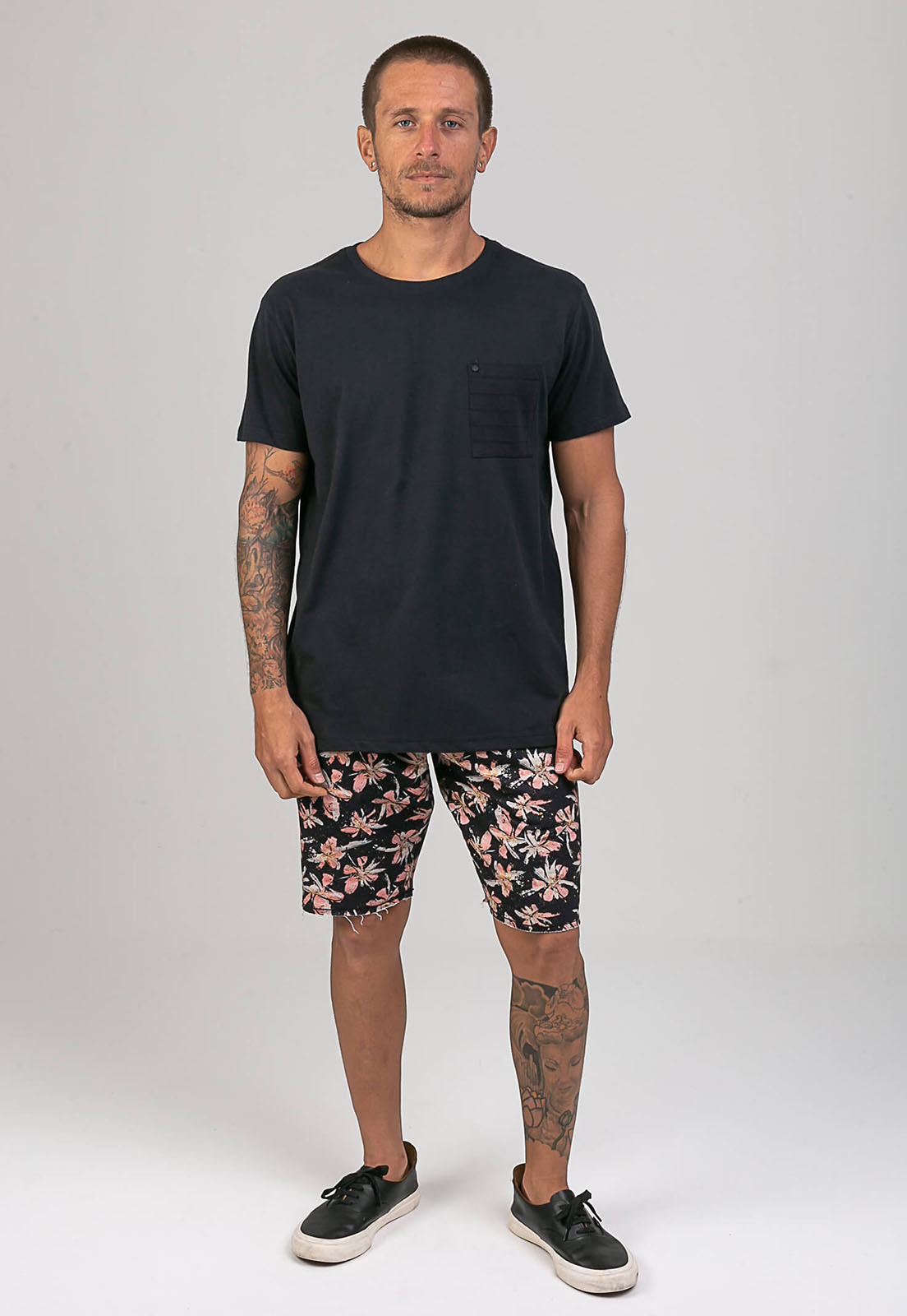 T-Shirt Black Night melty