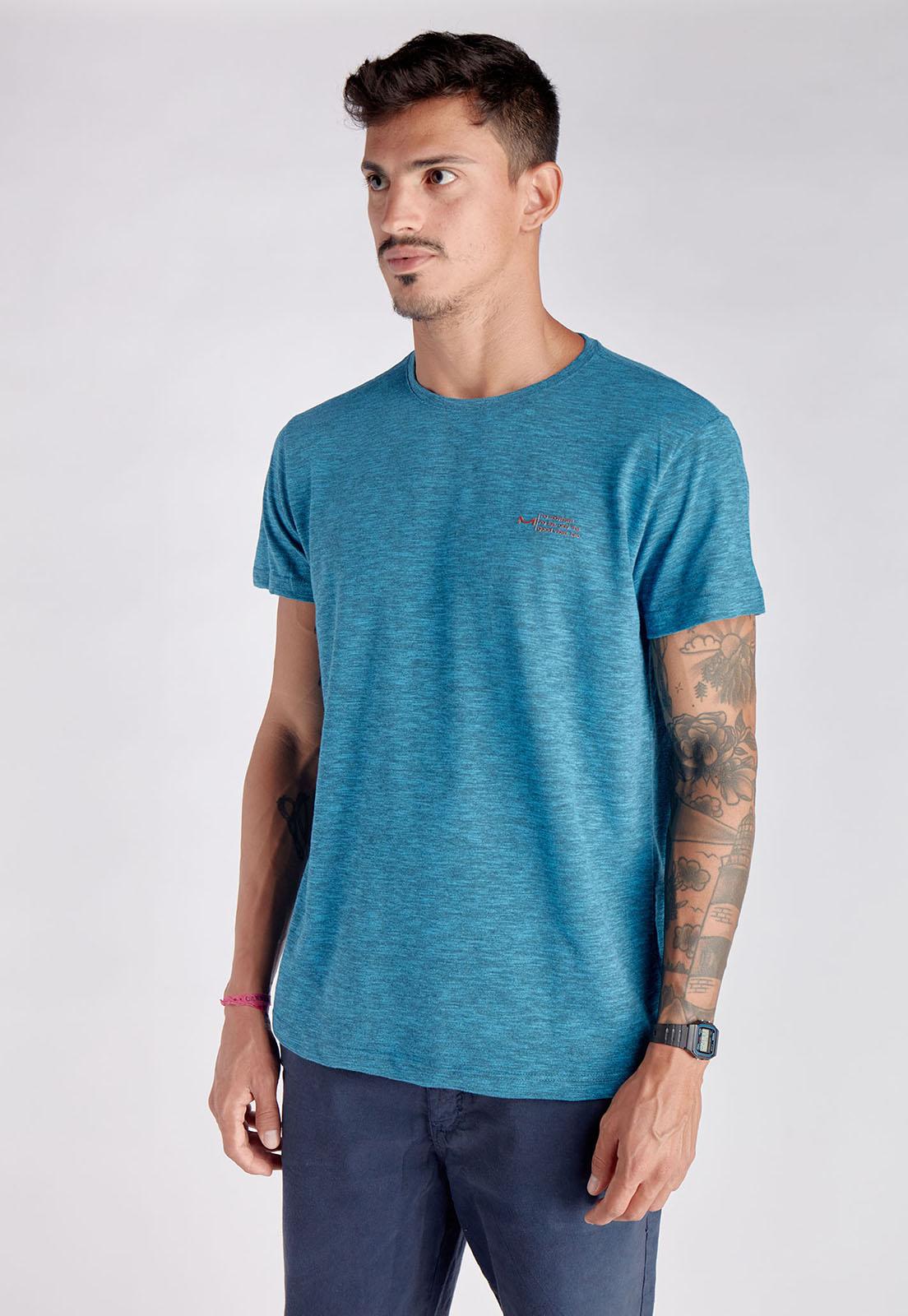 T-shirt Blue Melty