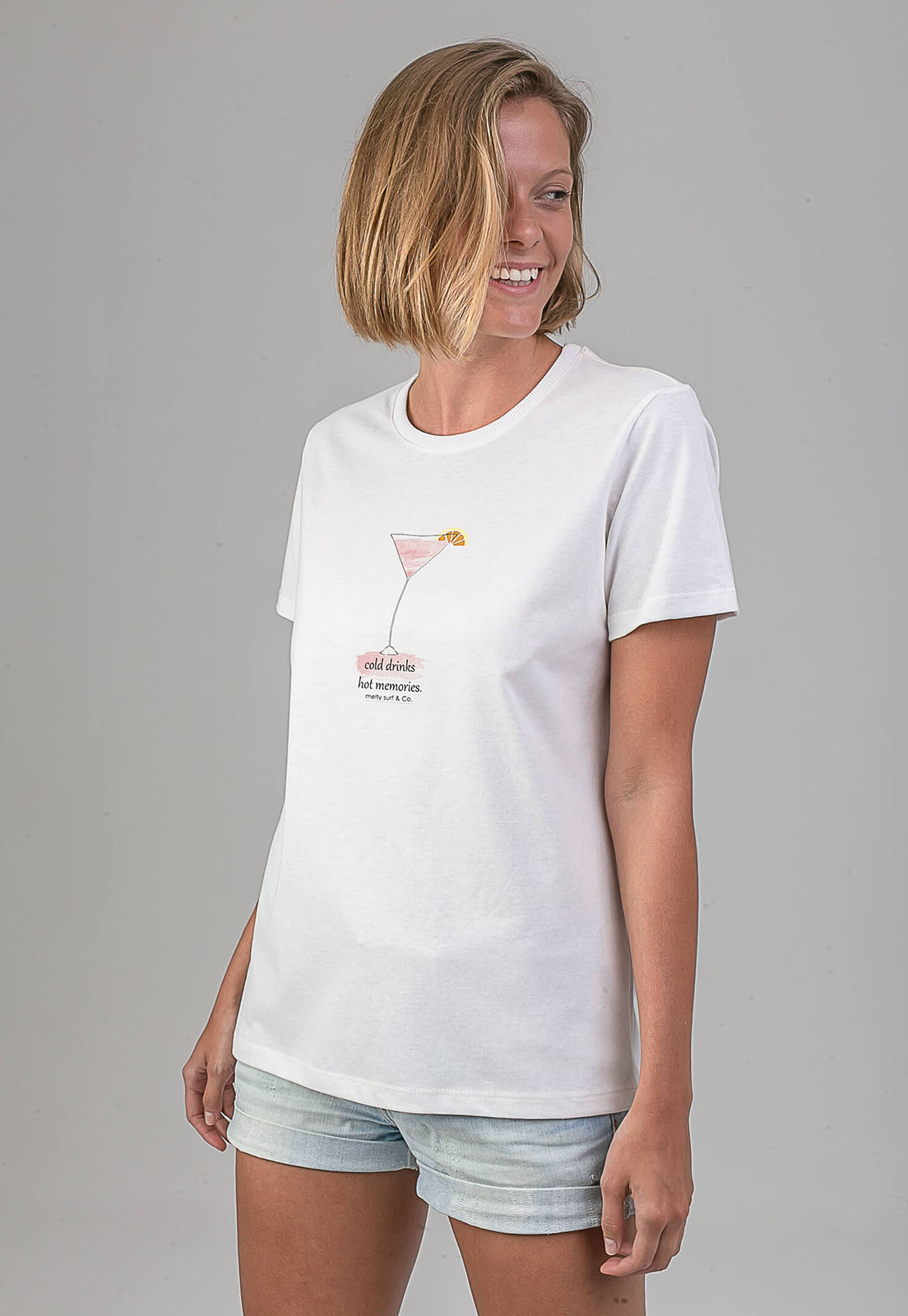 T-shirt Cold Drinks melty