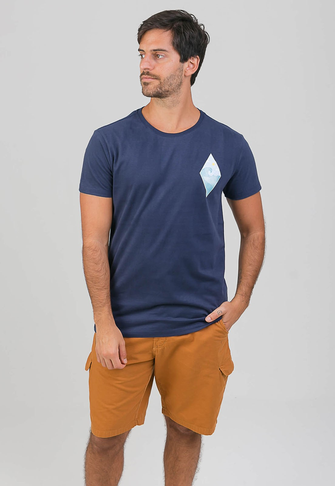 T-shirt Diamond Wave melty  - melty surf & Co.