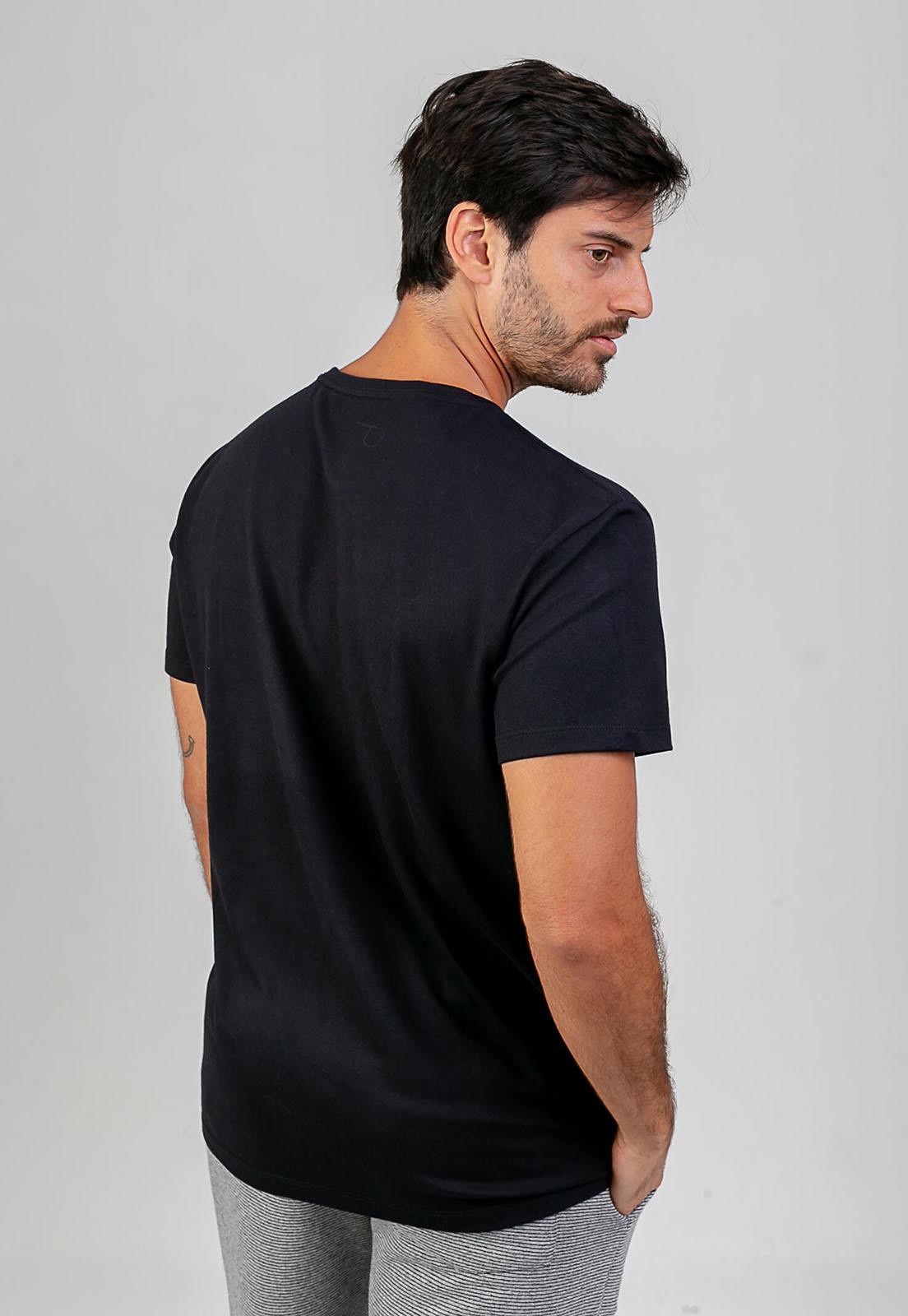 T-Shirt Embrace the Lightness Preto melty  - melty surf & Co.