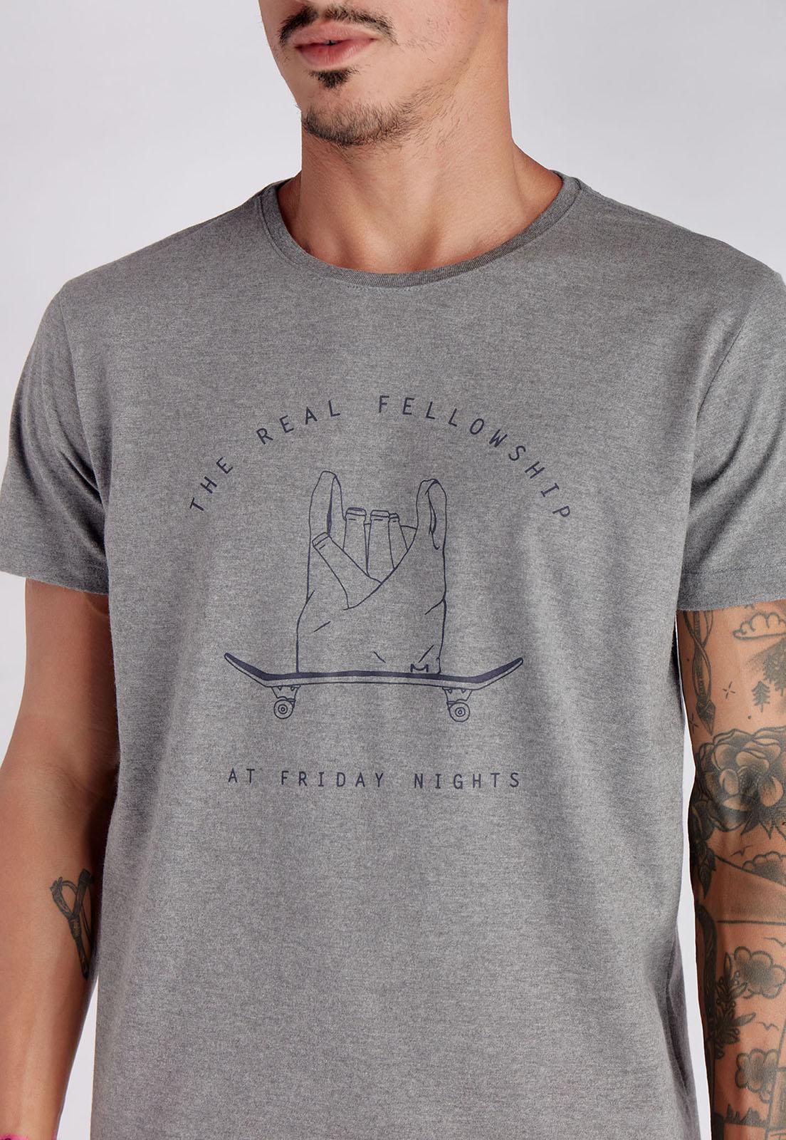T-shirt Fellowship Mescla Melty