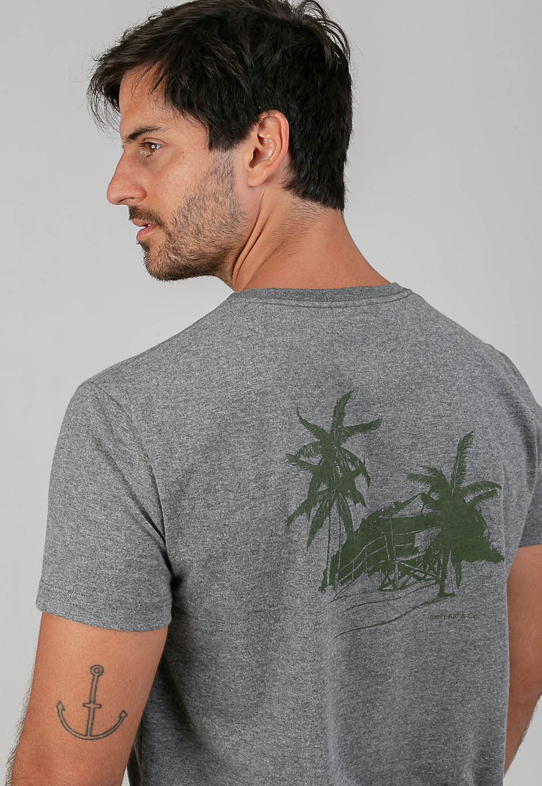 T-Shirt Friends Brigade mescla melty  - melty surf & Co.