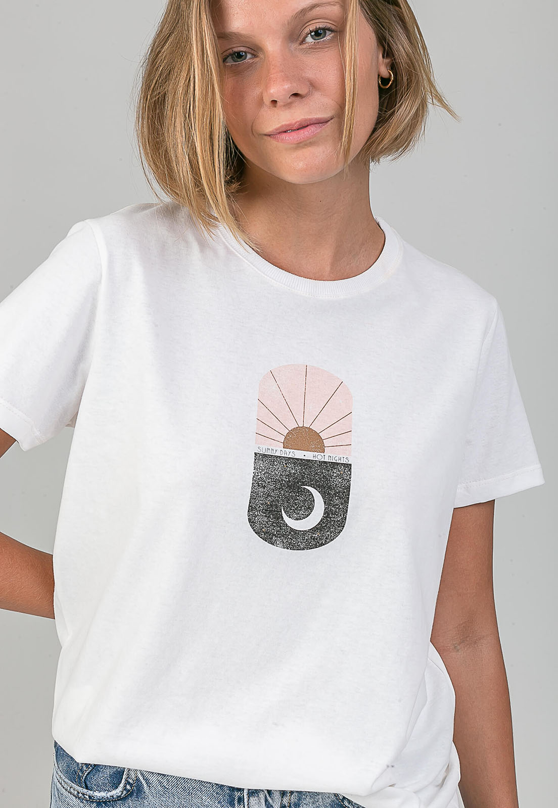 T-shirt Hot Nights melty  - melty surf & Co.