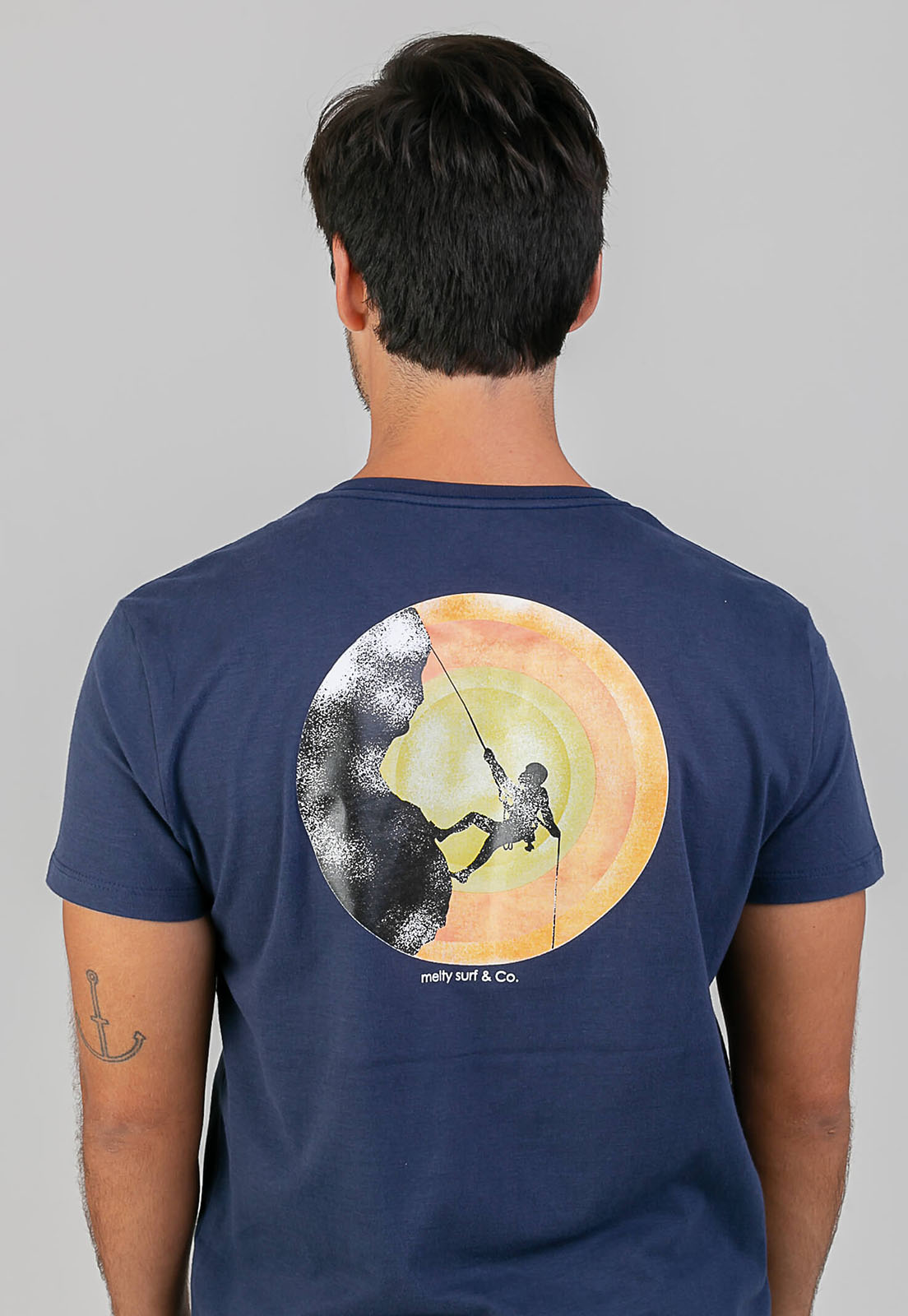T-Shirt Kamicaze Rider preto melty  - melty surf & Co.
