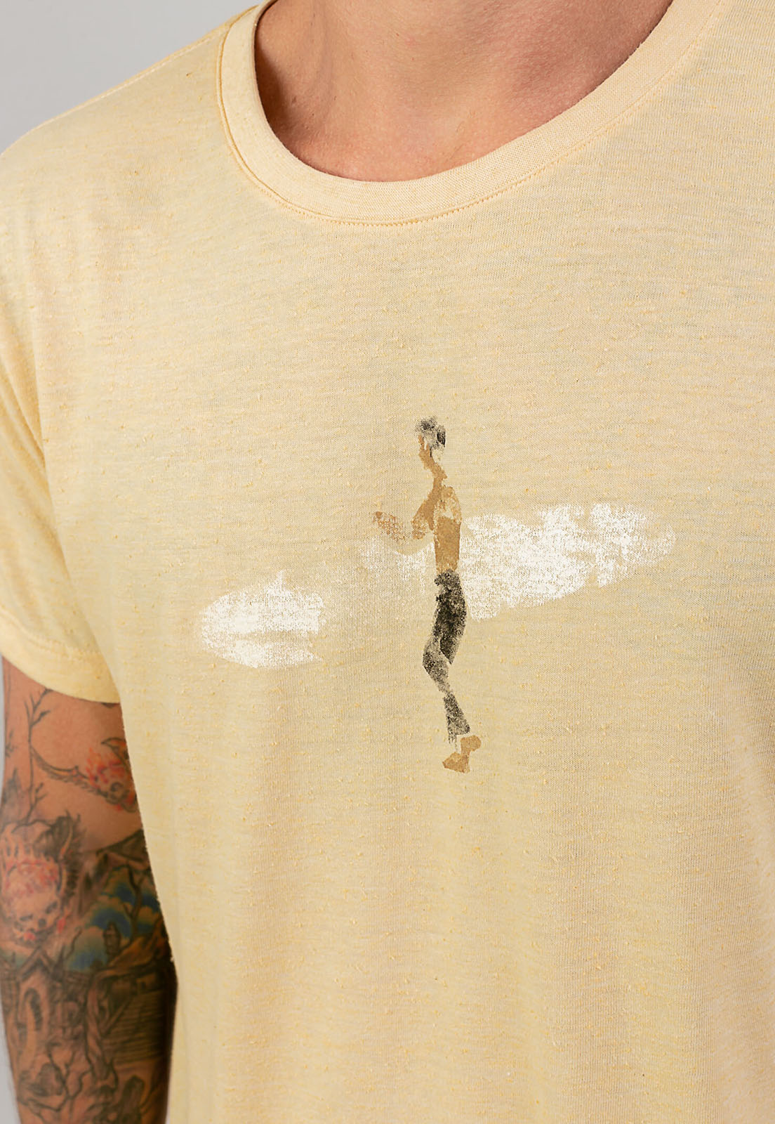 T-shirt Lonely Surf