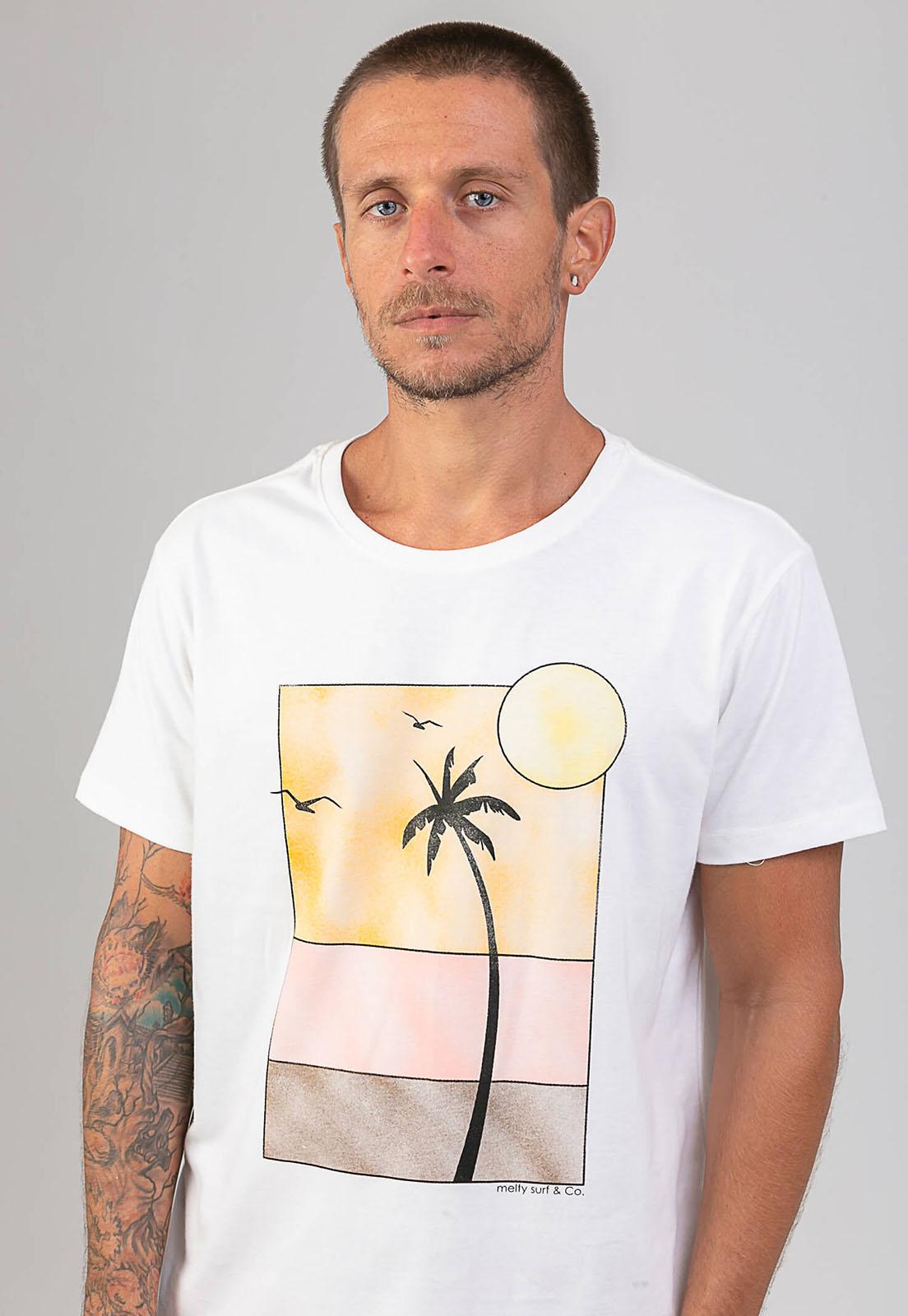 T-shirt Long Beach melty  - melty surf & Co.