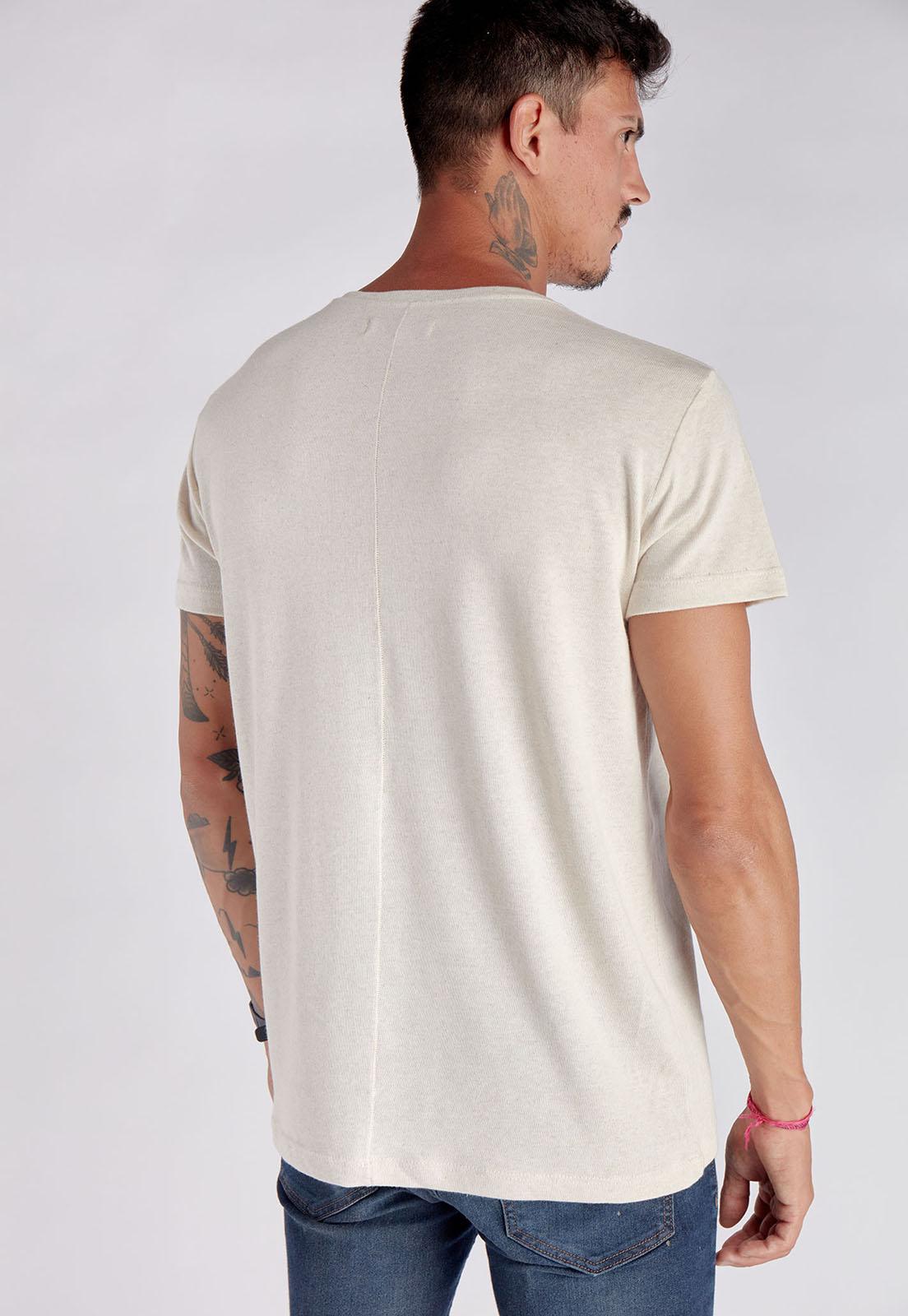 T-shirt Palmeira Linho Melty