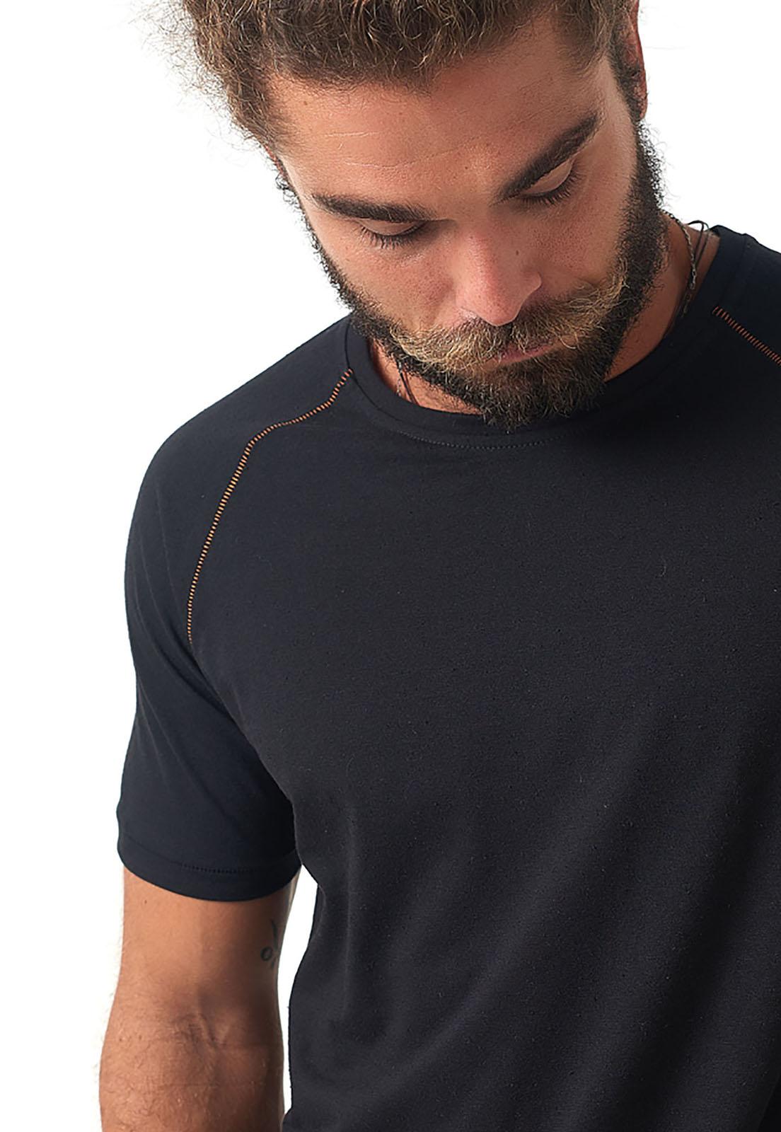 T-Shirt Raglan Pesponto melty