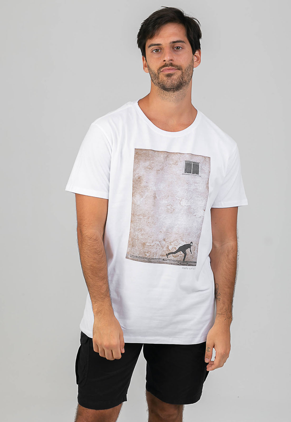 T-shirt Remada Branco melty  - melty surf & Co.
