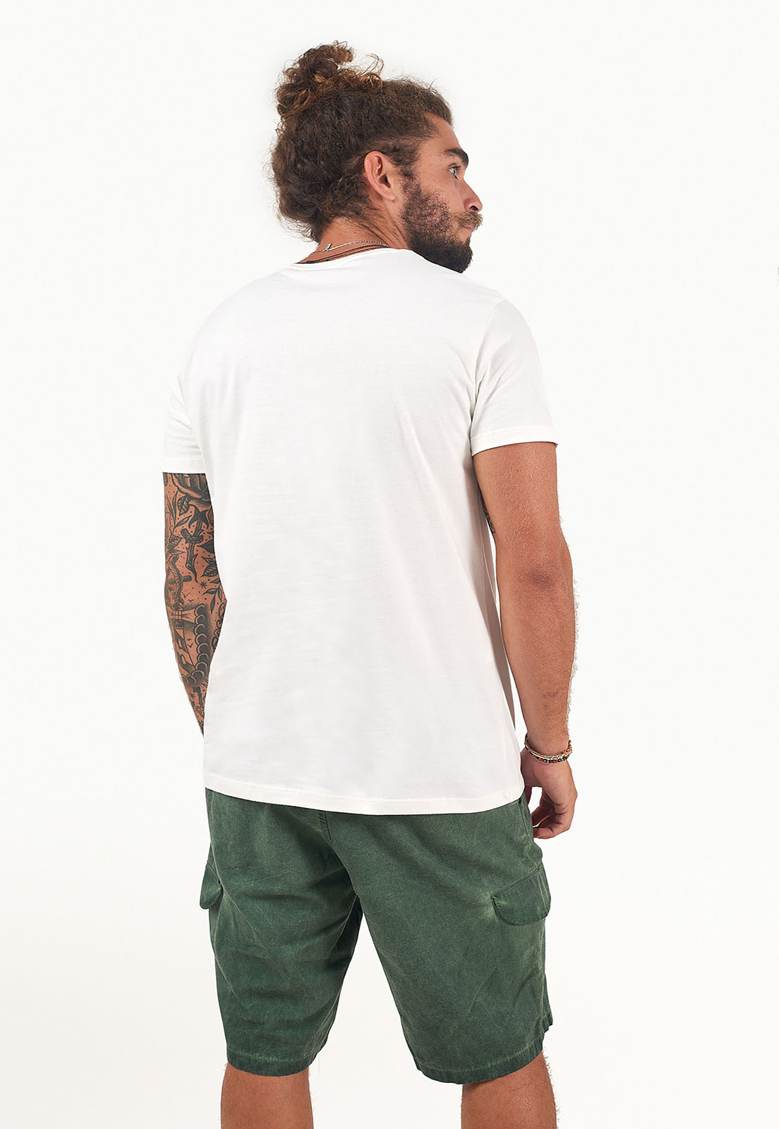 T-Shirt Rio lines Branco melty  - melty surf & Co.