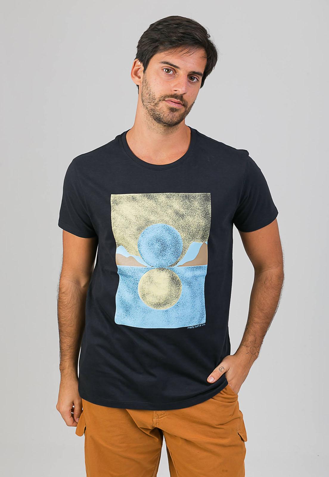 T-Shirt Sunny Moon melty  - melty surf & Co.