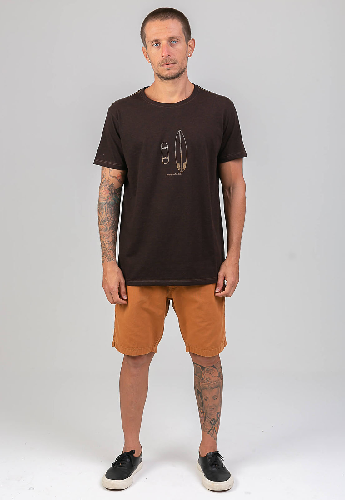 T-Shirt Surf Café melty  - melty surf & Co.