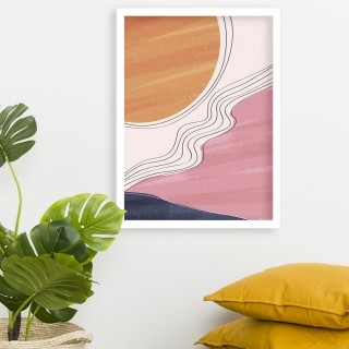 "Quadro Decorativo A3 ""Sunset"" REF: QDR75"