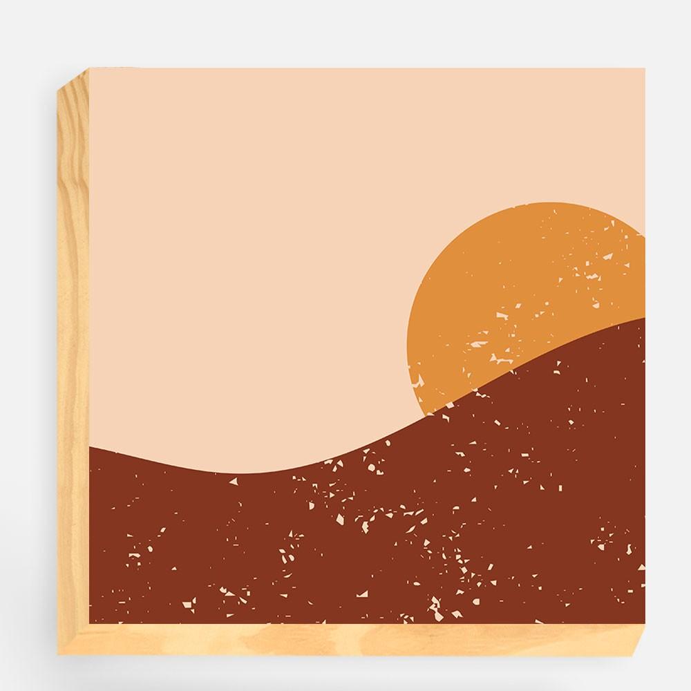 """Kit  de Blocos Decorativos """"Sunset"""" REF: KBLC94+95"""