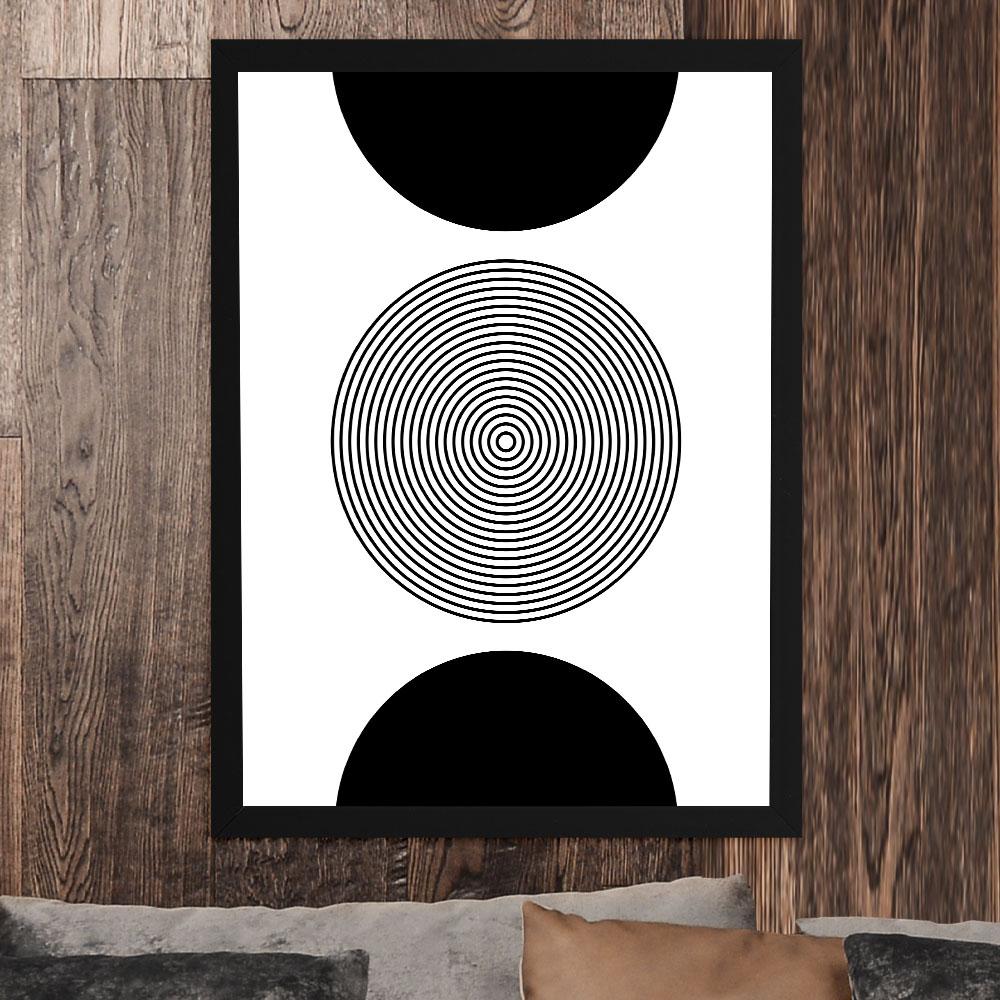 "Quadro Decorativo A3 ""Minimalist Illusion"" REF: QDR142"