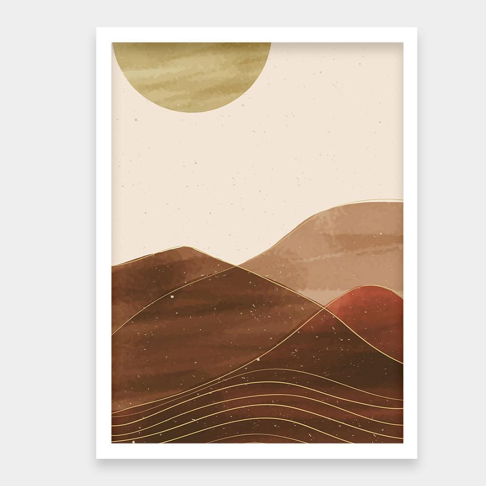 "Quadro Decorativo A3 ""Sunset"" REF: QDR74"