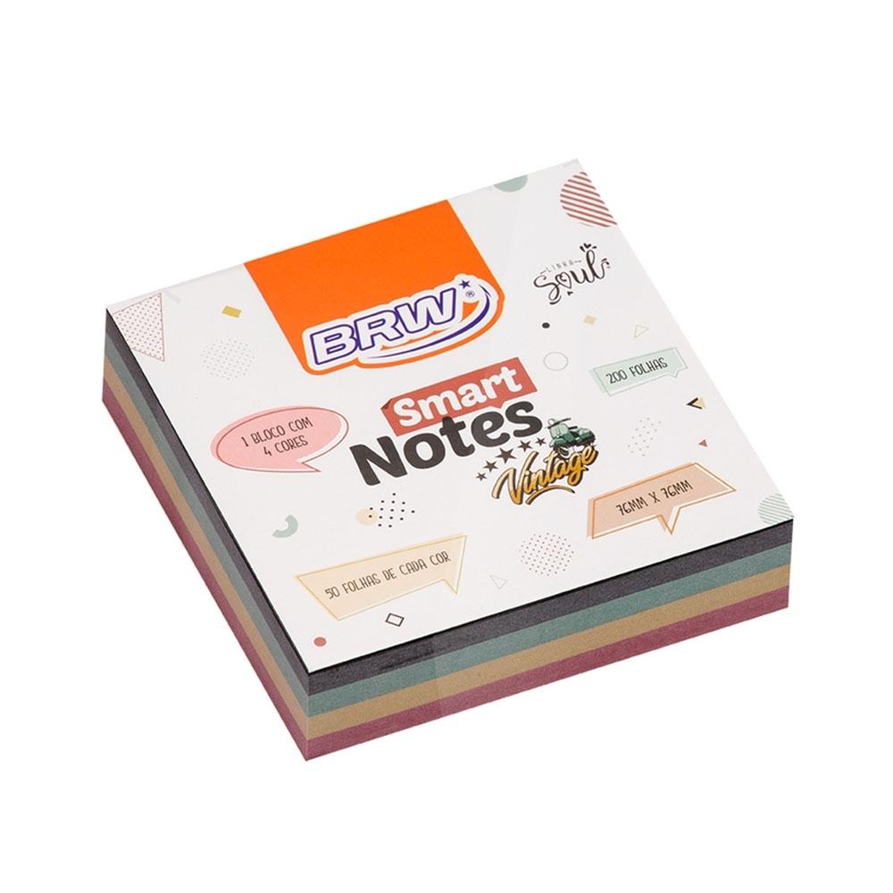 Bloco Anotações Smart Notes Vintage - BRW