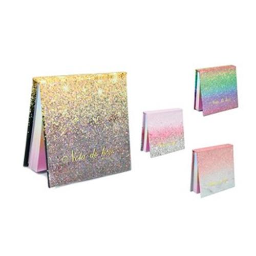 Bloquinho De Anotações Frases E Glitter
