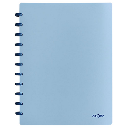 Caderno Atoma Pastel Plus Pautado A4